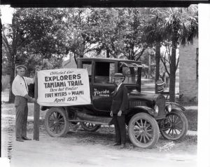 Explorers on Tamiami Trail 1923
